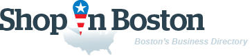 ShopInBoston. Business directory of Boston - logo